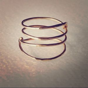 • Gold Filled Ring • Brand New • Size 5 •